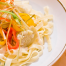 Thumbnail image for Fettuccine with Artichokes, Peppers and Fontina Cheese Sauce
