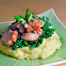 Thumbnail image for Italian Polenta with Chicken Sausage, Mushrooms & Kale