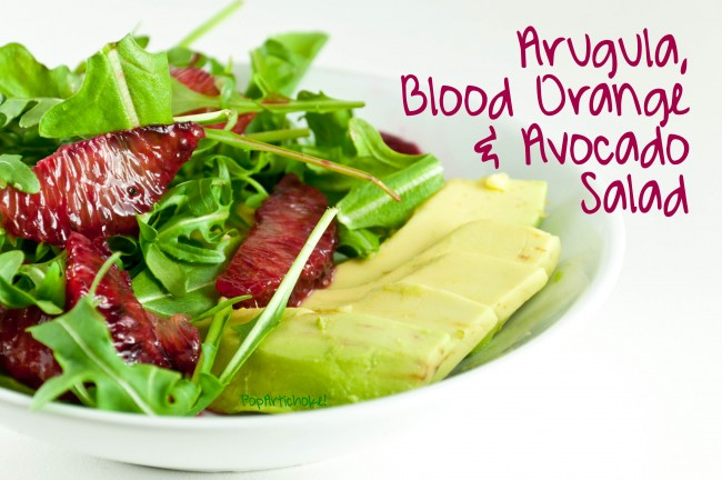 Post image for Arugula, Blood Orange, and Avocado Salad